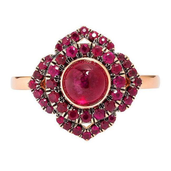 Vanessa Kandiyoti Ruby Ring