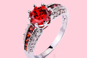 4 Appealing Shades of Red Jewels, You Won't Believe...