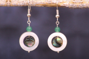 7 Sterling Silver Abalone Earrings To Flatter You On...
