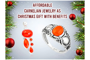 Affordable Carnelian Jewelry As Christmas Gift With...
