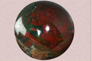 Bloodstone, a Stone of Courage and Bravery