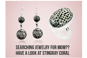 Searching Jewelry For Mom?? Have A Look At Stingray Coral