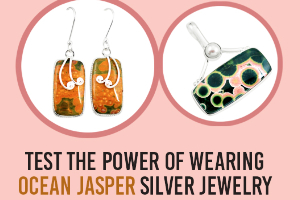 Test The Power Of Wearing Ocean Jasper Silver Jewelry
