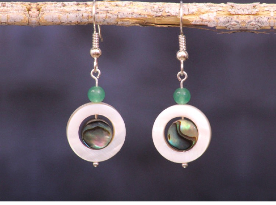 7 Sterling Silver Abalone Earrings To Flatter You On Formal Occasions Image