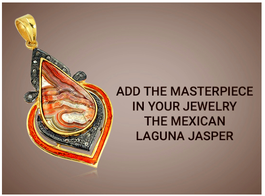 Add The Masterpiece In Your Jewelry - The Mexican Laguna Jasper Image
