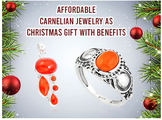 Affordable Carnelian Jewelry As Christmas Gift With Benefits Image