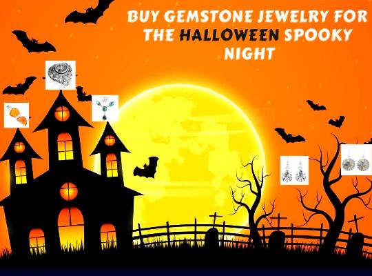 Buy Gemstone Jewelry for the Halloween Spooky Night Image