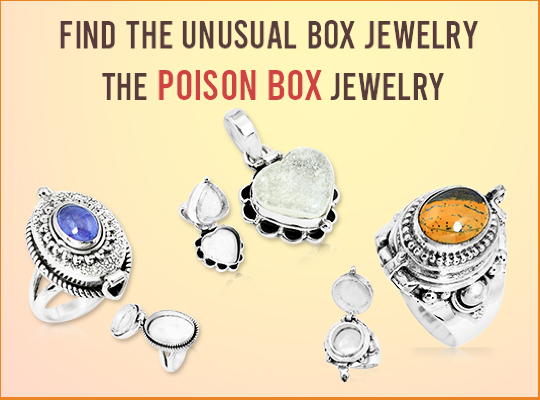 Find The Unusual Box Jewelry-The Poison Box Jewelry Image