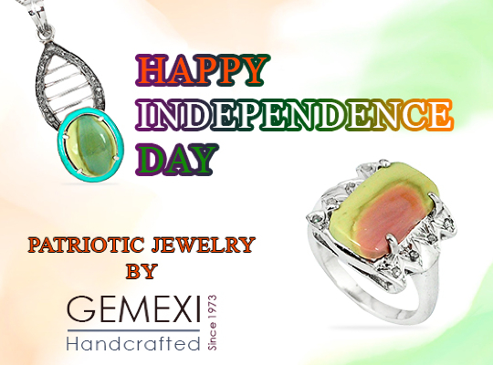 Gemexi Patriotic Jewelry for Independence Day Image