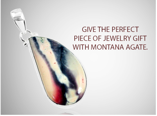 Give The Perfect Piece Of Jewelry Gift With Montana Agate Image