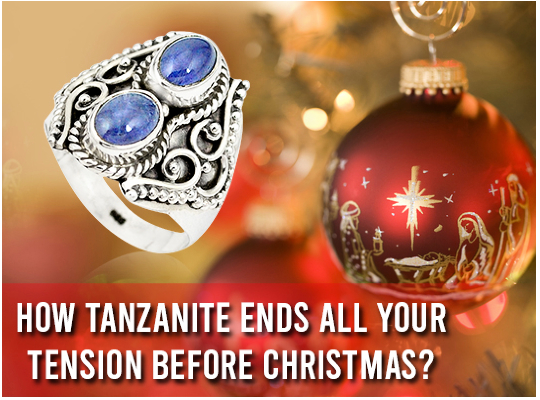 How Tanzanite Ends All Your Tension Before Christmas? Image