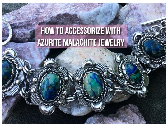 How To Accessorize With Azurite Malachite Jewelry Image