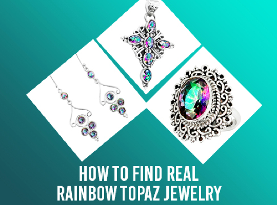 How To Find Real Rainbow Topaz Jewelry Image