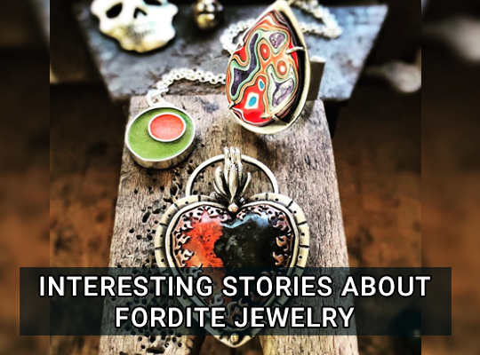 Interesting Stories About Fordite Jewelry Image