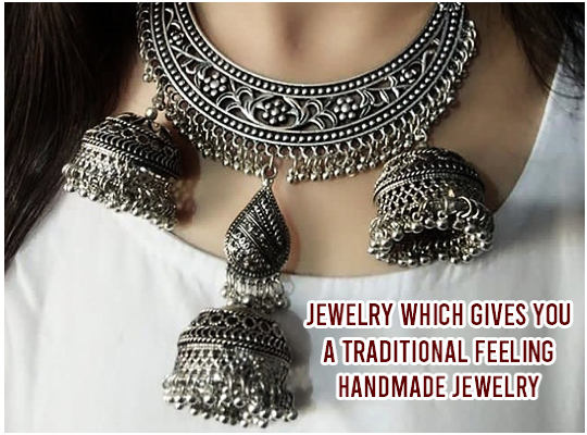 Jewelry Which Gives You A Traditional Feeling - Handmade jewelry Image