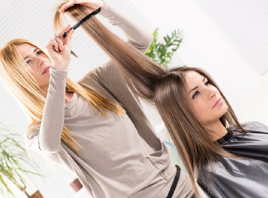 Let your hair talk. Few tips for thick, shining and healthy hair. Image