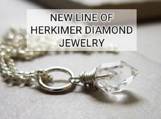 New Line Of Herkimer Diamond Jewelry! Image