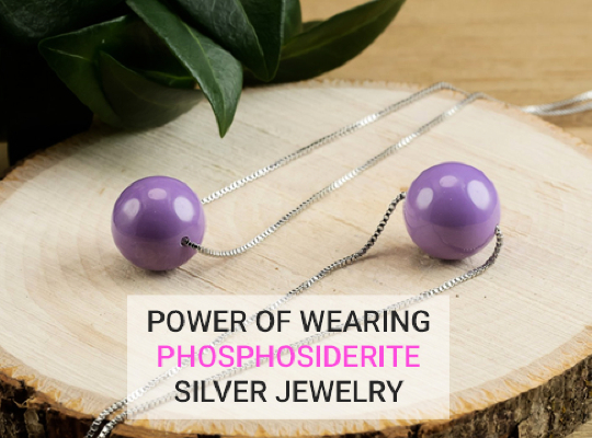 Power Of Wearing Phosphosiderite Silver Jewelry Image