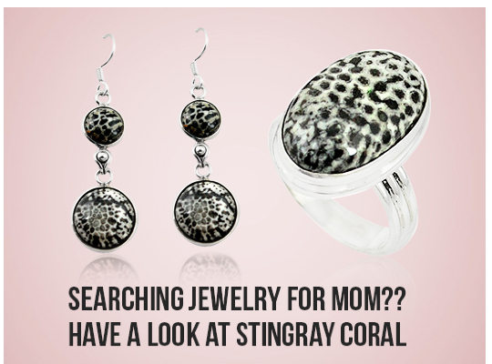 Searching Jewelry For Mom?? Have A Look At Stingray Coral Image