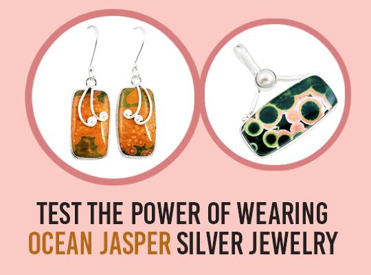 Test The Power Of Wearing Ocean Jasper Silver Jewelry Image