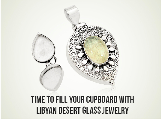 Time To Fill Your Cupboard With Libyan Desert Glass Jewelry Image