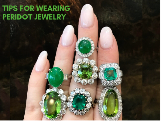 Tips For Wearing Peridot Jewelry Image