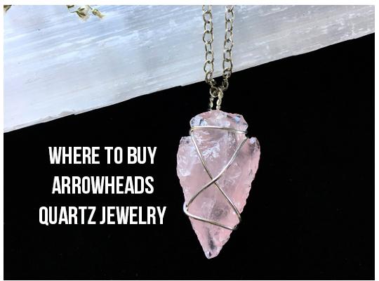 Where To Buy Arrowheads Quartz Jewelry Image