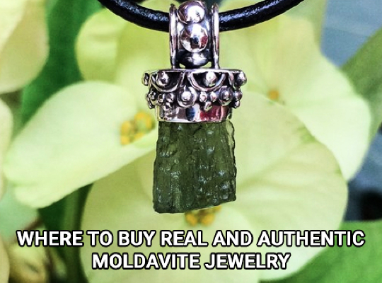 Where To Buy Real And Authentic Moldavite Jewelry Image