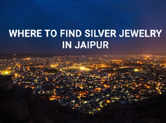 Where to find Silver Jewelry in Jaipur Image
