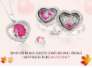 Why Sterling Silver Jewelry will Bring Happiness this Valentine?