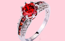 4 Appealing Shades of Red Jewels, You Won't Believe but Exist!
