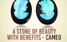 A Stone Of Beauty With Benefits Cameo