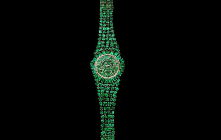 Backes & Strauss Unveils Million Dollar Emerald Green Watch