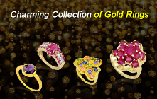 Charming collection of Gold Rings