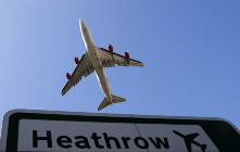 Exports in the UK via Heathrow up by 18%