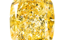Graff Reveals 132 Carat Statement Yellow Diamond, Calls It 'Golden Empress'
