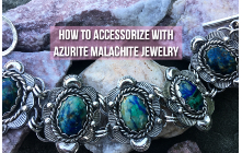 How To Accessorize With Azurite Malachite Jewelry