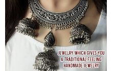 Jewelry Which Gives You A Traditional Feeling - Handmade jewelry