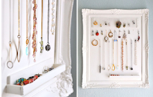 Keep your accessories organized in an orderly manner