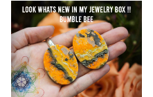 Look whats new in my jewelry box!! Bumble Bee