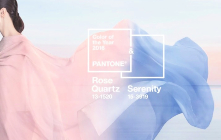 Pantone's announces Rose Quartz and Serenity colors, colors of the year