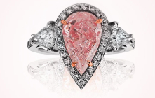 Ritchies opens the online auction of the colored diamonds worth of $14.7 million