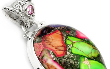 Spot Out a Vibrant Collection of Sea Sediment Jasper Jewelry