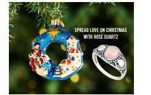 Spread Love On Christmas With Rose Quartz
