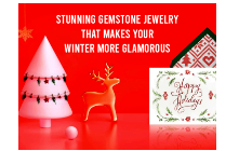 Stunning Gemstone Jewelry That Makes Your Winter More Glamorous