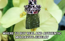 Where To Buy Real And Authentic Moldavite Jewelry