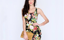 Women's Lovely Trend Style - Floral Clothing