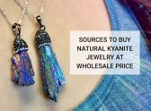Sources To Buy Natural Kyanite Stone Jewelry at Wholesale Price