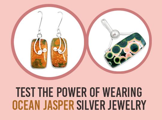 Test The Power Of Wearing Ocean Jasper Silver Jewelry