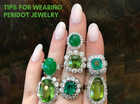 Tips For Wearing Peridot Jewelry